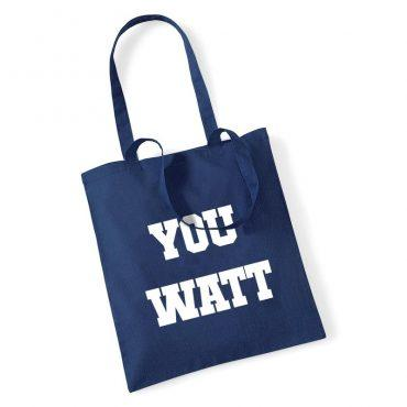 "Heriot Watt University | Sports Union ""You Watt"" Tote Bag"